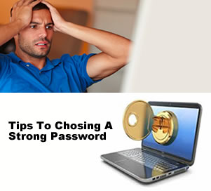 Tips to choosing a strong password