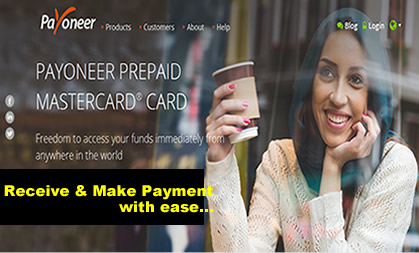 How to Get Paid with Payoneer Master Card