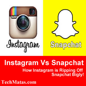 Instagram VS SnapChat